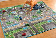 Kids City Play Mat
