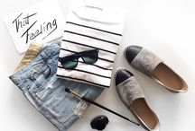 Flat Lay Beauty & Style / Flat lay beauty & style - peaces which rules a girls world