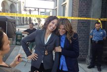 Castle pics / Behind the scenes, episode screen caps, pics posted by cast on twitter....