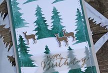 Stampin Up - Carols of Christmas / Stampin' Up! Carols of Christmas Stamp set and card front builder dies