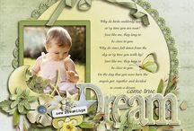 Scrapbooking - Girl Pages