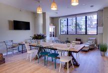 Local eventos Madrid. Armiñan Lounge / Alquiler de local en Madrid para la celebración de eventos. Posibilidad de utilizar la cocina o contratar el catering