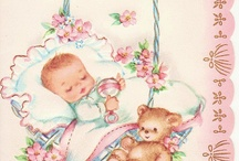 Vintage Baby Cards / by Dreams InBloom