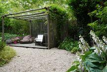 Zithoek tuin
