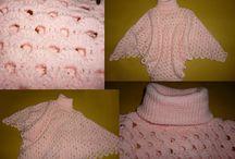 TEJIDOS / Tejidos a maquina, a mano y al crochet