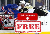 Pittsburgh Penguins vs. New York Rangers Live Stream Online