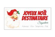 Carte de Noël / Retrouvez nos cartes et étiquettes pour Noel à imprimer