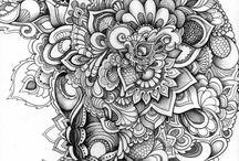 zentagle and doodling