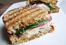 Sandwiches.. and wraps.. anything lunch..yum!! / by Debi Blancheri Steinmetz