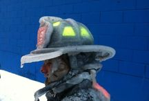 FIREFIGHTING & FIREFIGHTERS / Firefighters and their equipment! They are real heroes! / by Mark