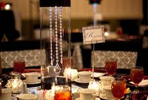 Wedding decor and tables