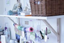 creative work space / by Clio Rebillon