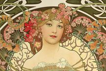 Alphonse Mucha / by Dennis West