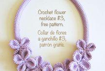 Crochet accessories / Gloves, socks, earrings, jewellery