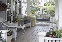 shabby porch
