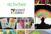 Spring Has Sprung! / Spring time is full of possibilities!   Spring Crafts | Spring Activities for Kids | Spring Snacks | Spring Books for Kids