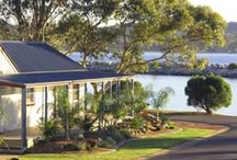 Accommodation in Batemans Bay, Australia, by OzeHols / OzeHols offers a range of accommodation in Batemans Bay to help you find the perfect holiday accommodation option to fit your budget. Choose from holiday homes, cottages, apartments, cabins, tourist caravan parks, backpacker accommodation to bed & breakfast, hotels, motels, resorts, luxury accommodation in Batemans Bay for your next holiday. Batemans Bay is around 4 hours south of Sydney and 2 hours drive from Canberra. / by OzeHols - Holiday Accommodation