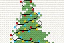 Χριστούγεννα...και σταυροβελονιά...
