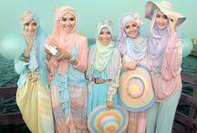 Hijab fashion  / by Sun Shine