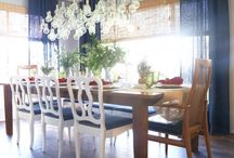 DINING ROOM IDEAS / Anything related to dining - indoors or al fresco!