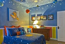 Kids Space Themed Room