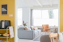 Geel - kleur en interieur / Kleuradvies interieur