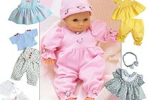 Baby Doll Clothes / by Carol Ann Pileggi