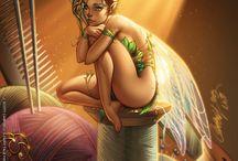 Illustrations Fantasy De Conte De Fées