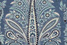Estamparia: Cashmeres / elementos cashmeres
