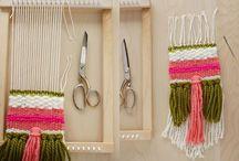 hoop weave love / weaving craft