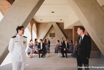 wedding: joey + michael / Venue: South Carolina Aquarium, Charleston, SC ~ Flowers: Gayla Harvey Tiger Lily Florist ~  Photo: Stephanie W. Photography
