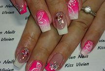 Francia körmök / French nails