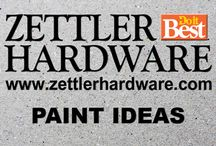 Zettler Paint Ideas / Need Help with Painting or Paint Color Matching? We have supplies too!