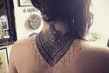 tattoo nuca