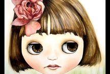 Dolly Love: Blythe / cute little big eyed girlies / by Jamie Enochs
