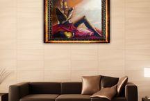 Art By M Viljoen / Oil and Water Color