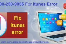 Dial 1800-250-9055 for itunes error