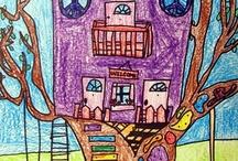 ağac evler