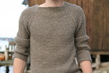 Knitting: Clothes for men