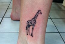 Tatuajes de jirafa