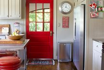 Painting & Decor for kitchen and living room!  / by Lindsey Ross