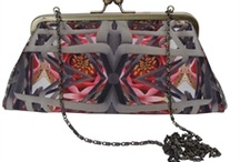 Emma Burton digitally printed clothing, scarves and bags. / Emma Burton's exclusive digitally printed textile products.