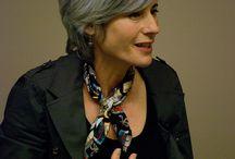 gray hair ideas