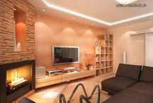nappali beépített világítás