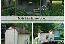 Playhouse for Anna / playhouses
