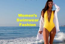 Swimwear / Browse some of the hottest swimwear fashions. You will find every color, design and print of swimwear imaginable. #swimwear