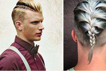 Men's fashion - Braided Hair / Male Hair Braids