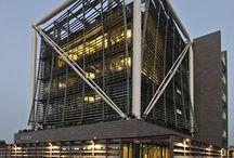 Facade steel structure