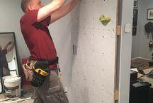 .:basement climbing wall:.