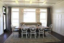 dining room / by Rebecca Schneider